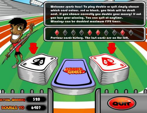 Summer Games review on Review Slots