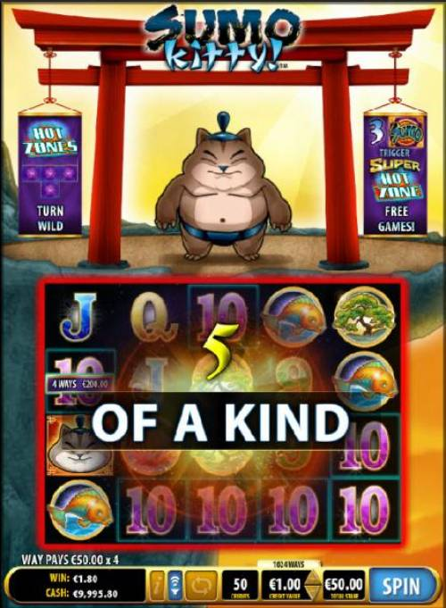 Sumo Kitty review on Review Slots
