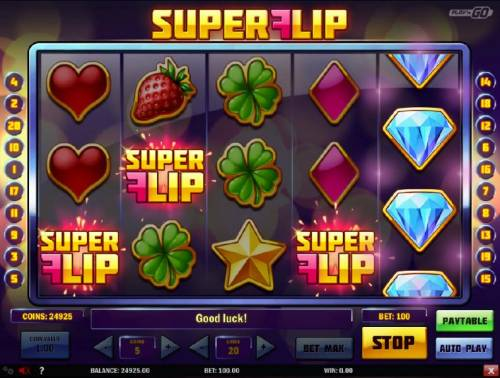 Super Flip Review Slots Three Super Flip scatter symbols trigger the Free Spins feature.