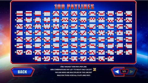 Superman the Movie Review Slots Payline Diagrams 1-100. Only highest win pays per line. Win combinations pay left to right only except scatters. Paylines are multiplied by the line bet.