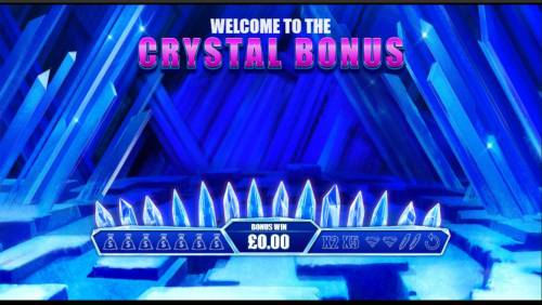 Superman the Movie Review Slots Crystal Bonus Game Board - Select crystal to reveal prizes