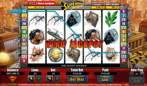 Superman Jackpots Review Slots Jackpots are randomly awarded during the game