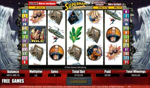 Superman Jackpots Review Slots Free Games Game Board