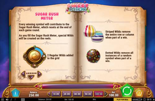 Sweet Alchemy review on Review Slots