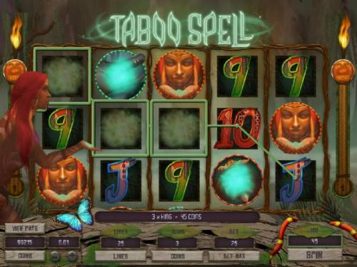 Taboo Spell review on Review Slots