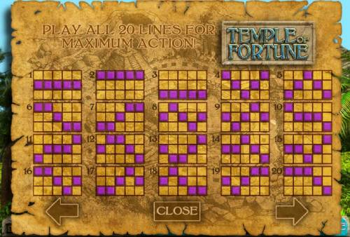 Temple of Fortune review on Review Slots