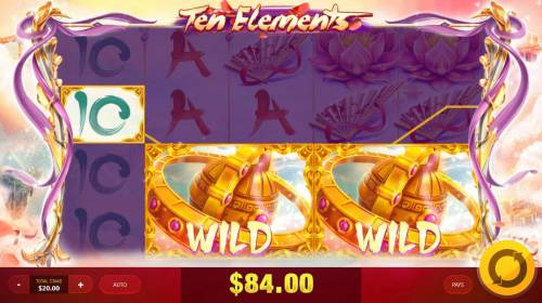 Ten Elements Review Slots Multiple winning paylines triggered by expanded wilds.