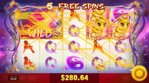 Ten Elements Review Slots A big win triggered by multiple winning paylines during the free spins feature