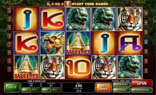 Thai Temple Review Slots Multiple winning paylines