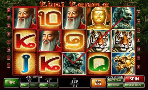Thai Temple Review Slots Two of a Kind