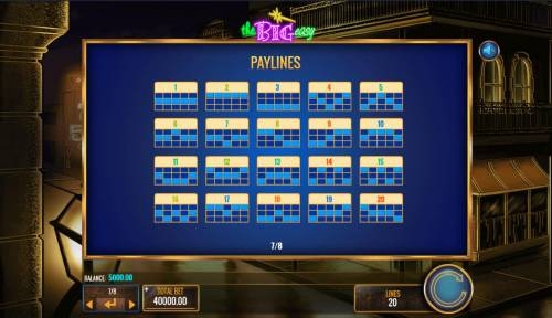 The Big Easy Review Slots Paylines 1-20