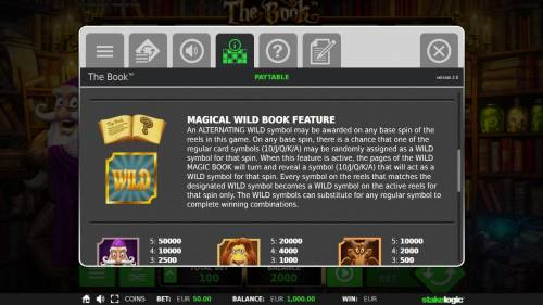The Book Review Slots Magical Wild Book Feature Rules