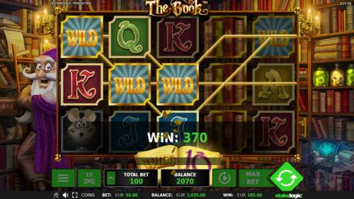 The Book Review Slots Multiple winning paylines triggers a big win!
