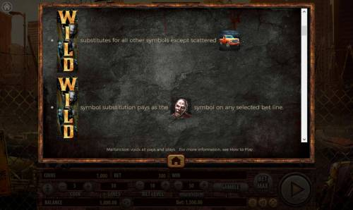 The Dead Escape Review Slots Stacked Wild Symbol Rules