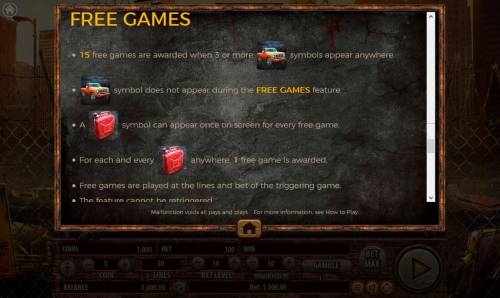 The Dead Escape Review Slots Free Games Rules