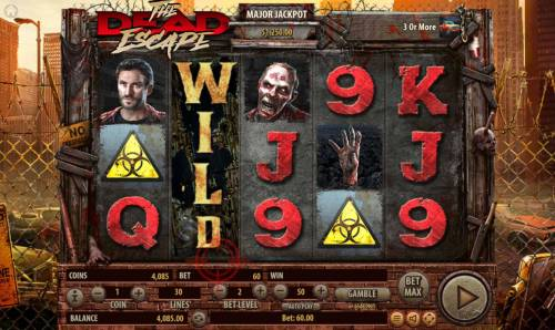 The Dead Escape Review Slots If the Duel feature ends in an escape the reel with the zombie is turned into a wild reel