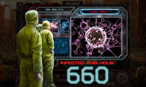 The Dead Escape Review Slots Duel feature leads to a 660 coin jackpot win