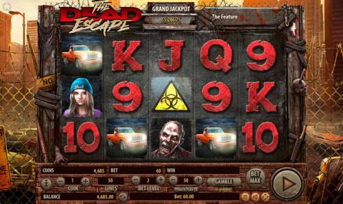 The Dead Escape Review Slots Three pickup truck scatters in any position on the reels triggers the free spins feature