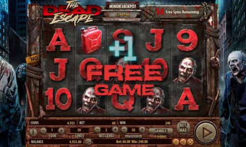 The Dead Escape Review Slots Landing a gasoline can on the reels during the free spins feature will add 1 additonal free spin
