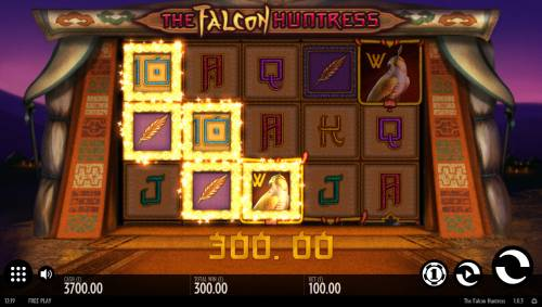 The Falcon Huntress review on Review Slots