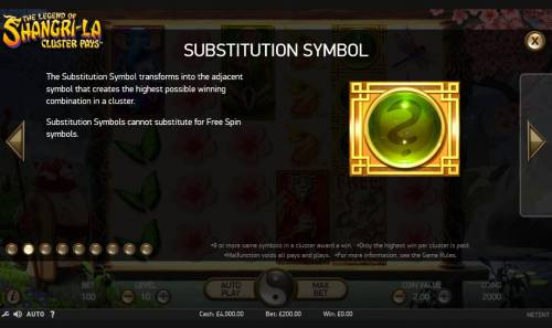 The Legend of Shangri-La Review Slots Wild Symbol Rules