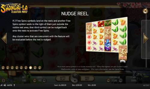The Legend of Shangri-La Review Slots Nudge Reel Rules
