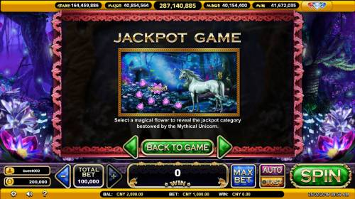 The Mythical Unicorn Review Slots Jackpot Game Rules