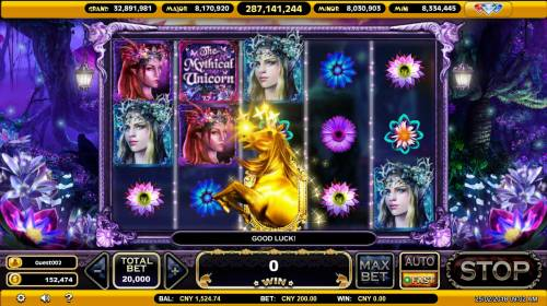 The Mythical Unicorn Review Slots