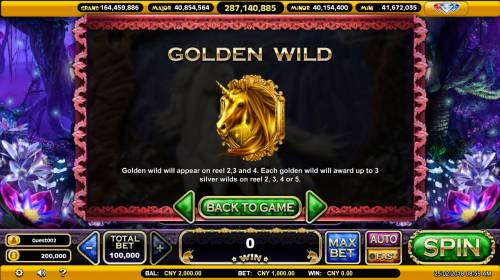 The Mythical Unicorn Review Slots Wild Symbol Rules