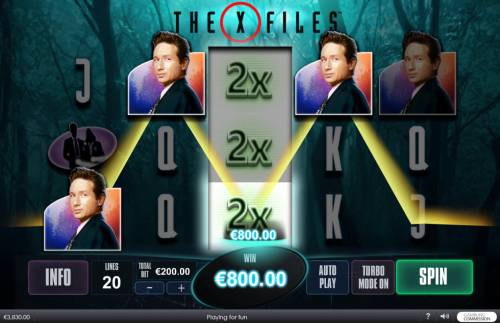 The X Files review on Review Slots