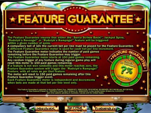 The Elf Wars Review Slots Feature Guarantee rules