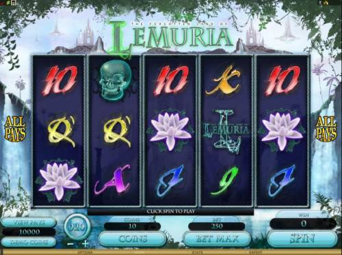 The Forgotten Land of Lemuria review on Review Slots
