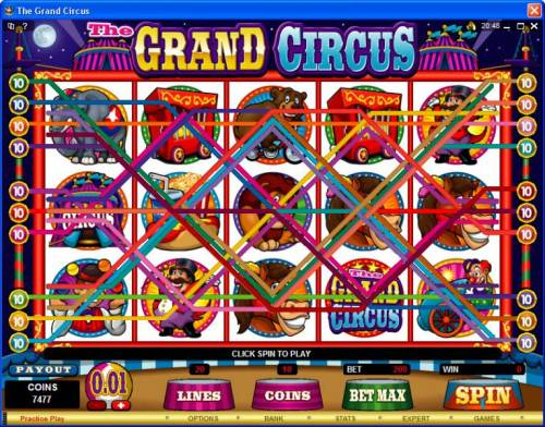 The Grand Circus review on Review Slots