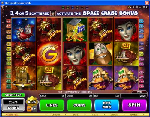 The Great Galaxy Grab review on Review Slots