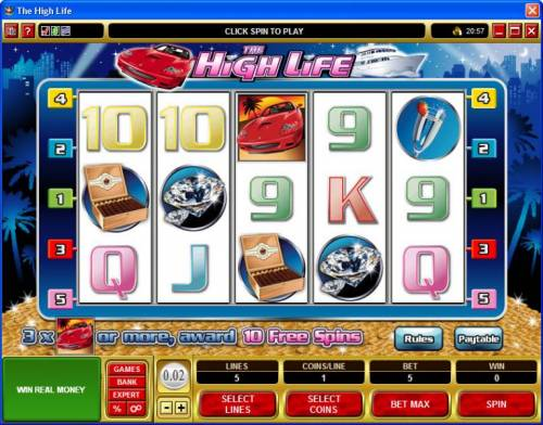 The High Life review on Review Slots