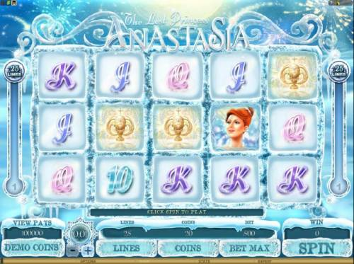The Lost Princess Anastasia review on Review Slots