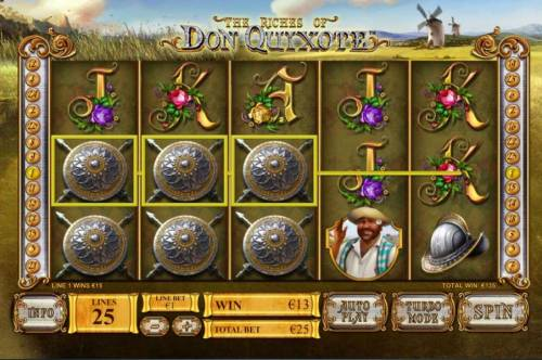 The Riches of Don Quixote review on Review Slots