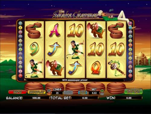 The Snake Charmer review on Review Slots