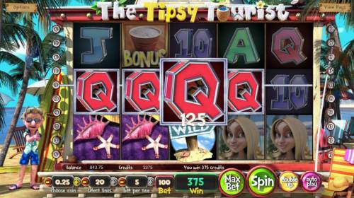 The Tipsy Tourist Review Slots Multiple winning paylines triggers a big win!