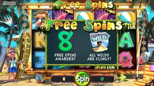 The Tipsy Tourist Review Slots 8 Free Spins awarded with sticky wilds!