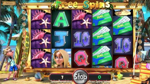 The Tipsy Tourist Review Slots Free Spins Game Board