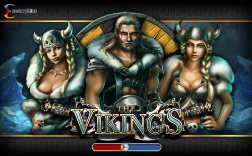 The Vikings Review Slots Splash screen - game loading