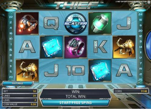 Thief Review Slots free spins game board