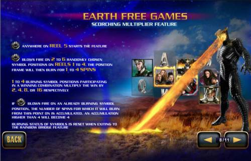 Thor the Mighty Avenger Review Slots Earth Free Games - Scorching Multiplier Feature