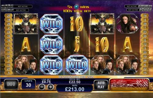 Thor the Mighty Avenger Review Slots