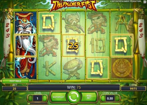 Thunderfist Review Slots stacked wild triggers 75 payout
