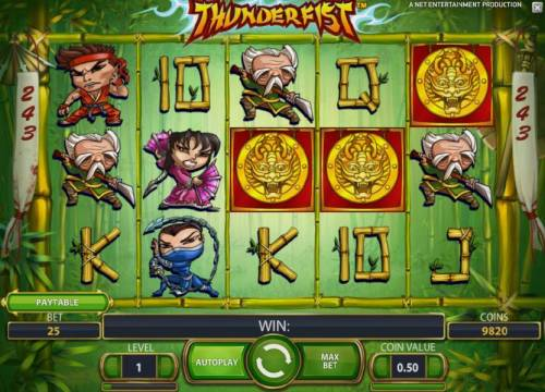 Thunderfist Review Slots 3 scatter symbols triggers free spins bonus feature