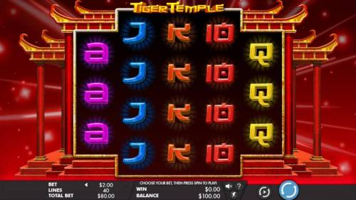 Tiger Temple review on Review Slots