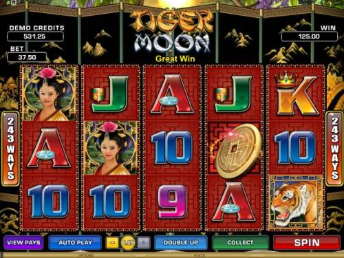 Tiger Moon review on Review Slots
