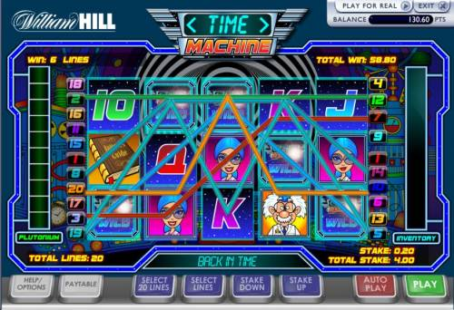 Time Machine Review Slots here is a 58 coin jackpot